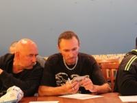 Pirmas klubo narių susirinkimas 2013.08.22